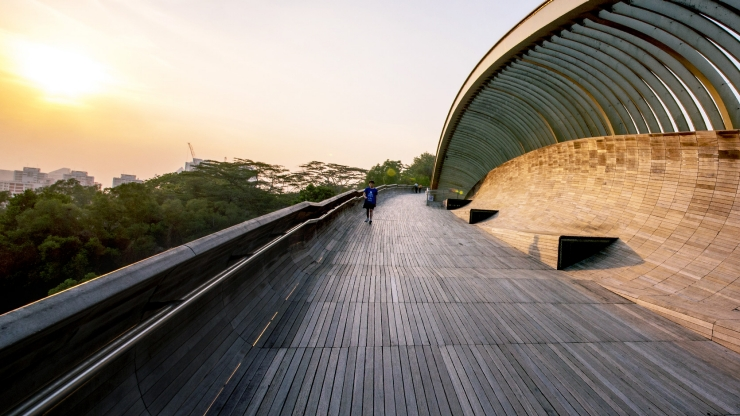 Romance At The Henderson Waves Singapore