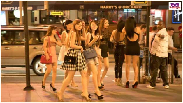 Hot Russian Chicks on Orchard Road