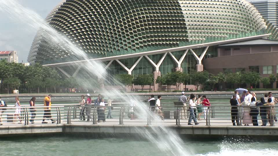 I Got Spanked At Theatres on The Bay, Singapore BDSM Story