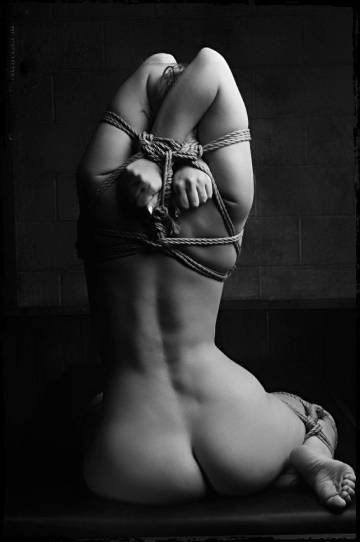 with rope bondage